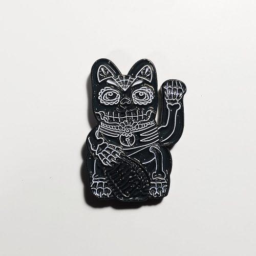 pindemic black cat