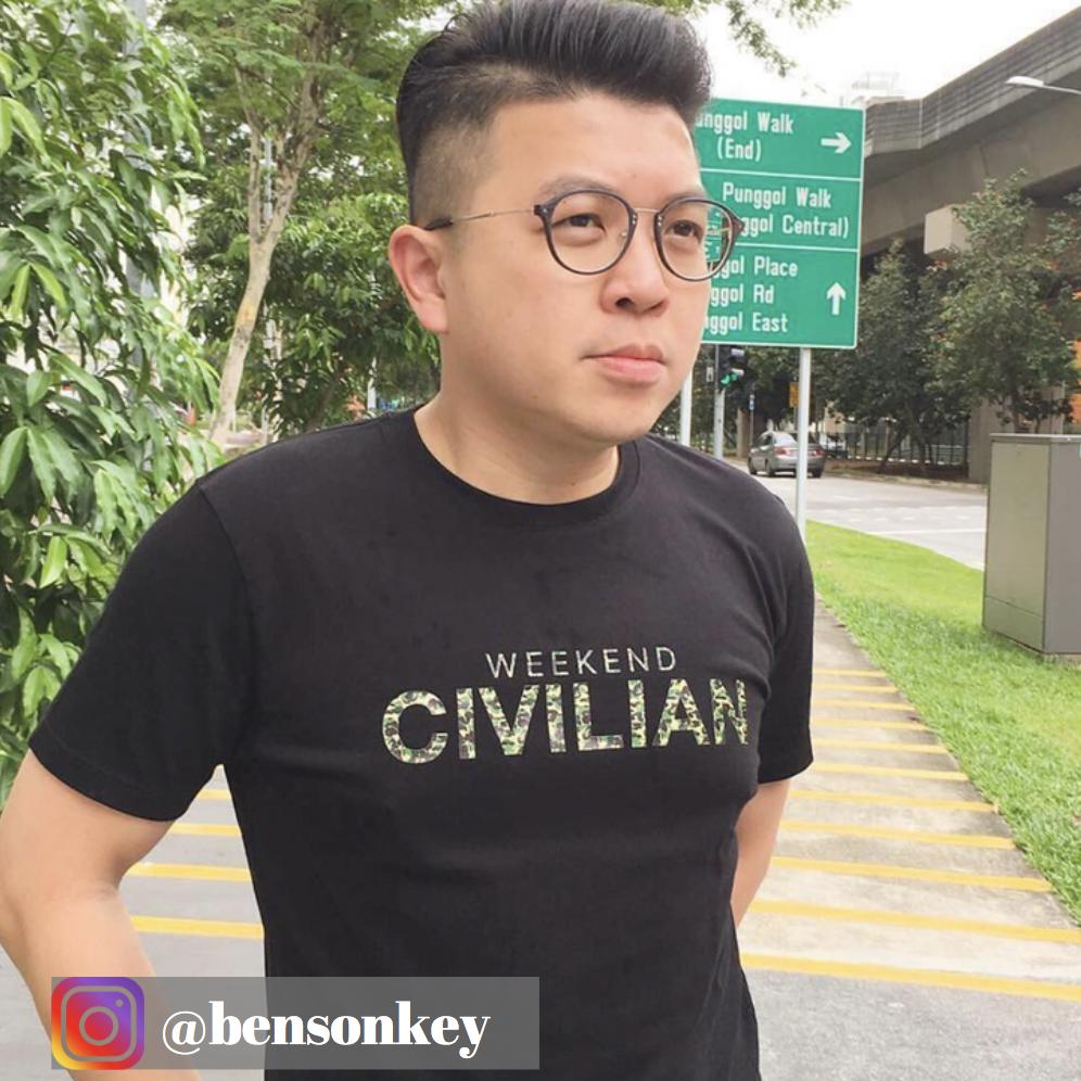 Weekend Civilian Crew Neck S-Sleeve T-shirt