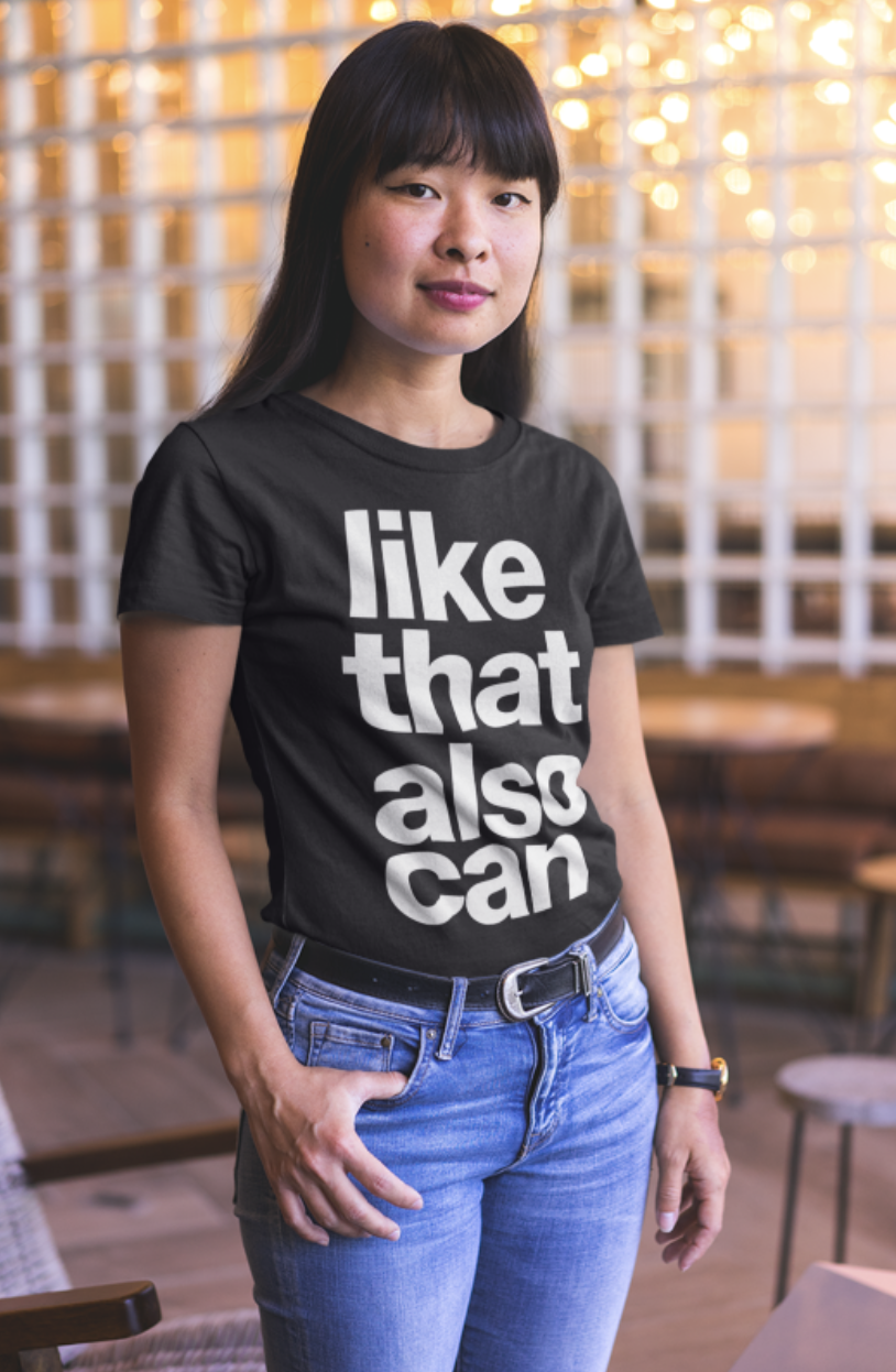 Like That Also Can Crew Neck S-Sleeve T-shirt