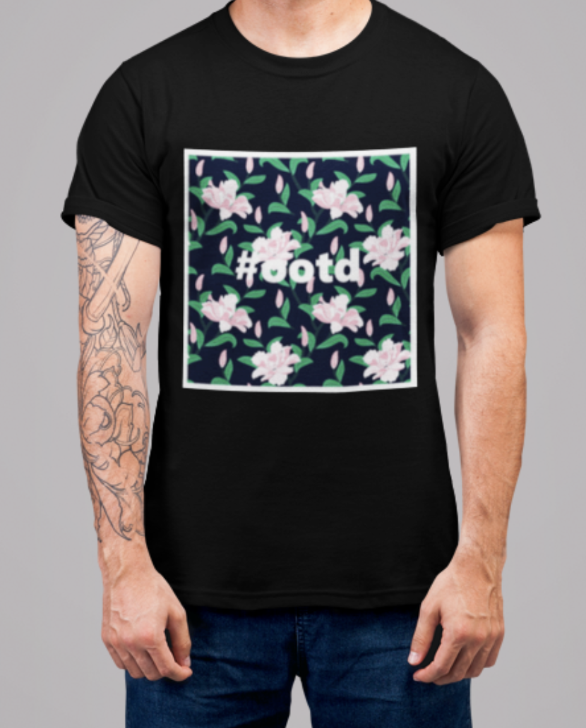 OOTD Crew Neck S-Sleeve T-shirt