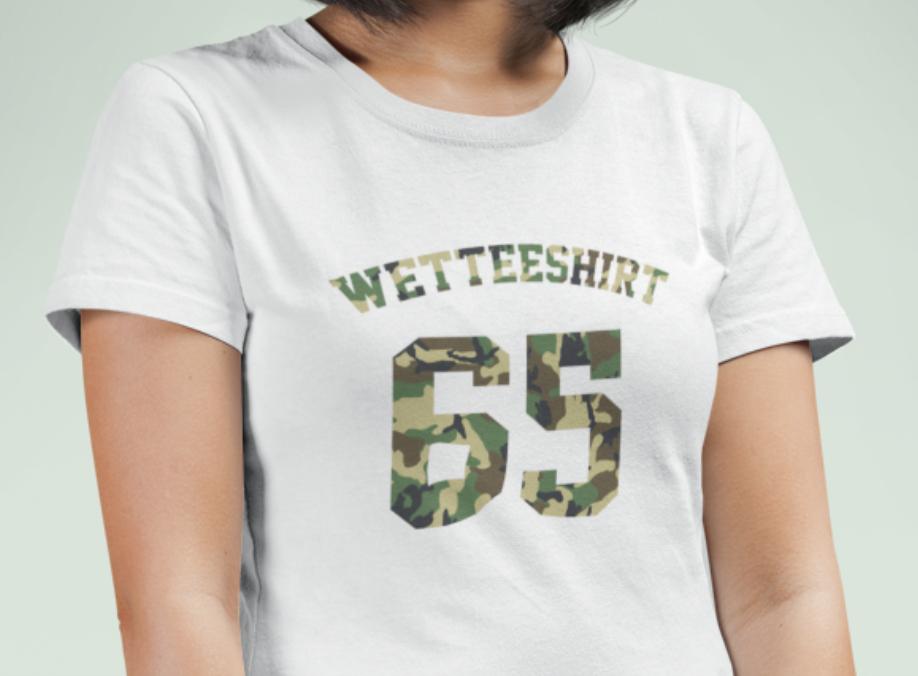 Essential Camo Crew Neck S-Sleeve T-shirt