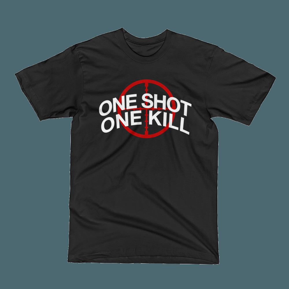 One Shot One Kill Crew Neck S-Sleeve T-shirt