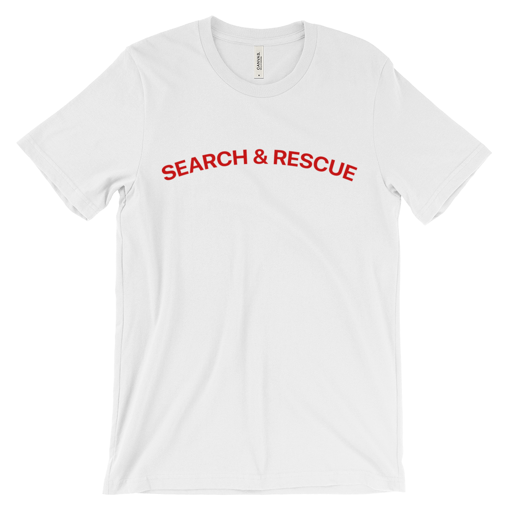 Search And Rescue Crew Neck S-Sleeve T-shirt