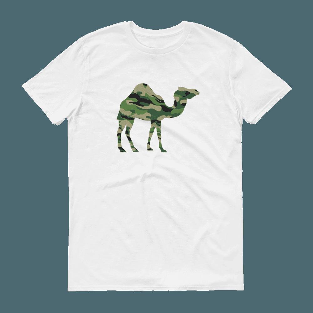 Camo Camel Crew Neck S-Sleeve T-shirt