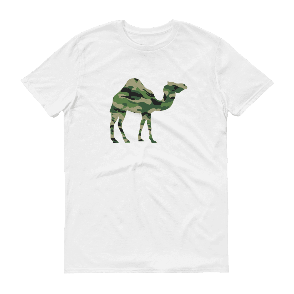 Camo Camel Kids Crew Neck S-Sleeve T-shirt