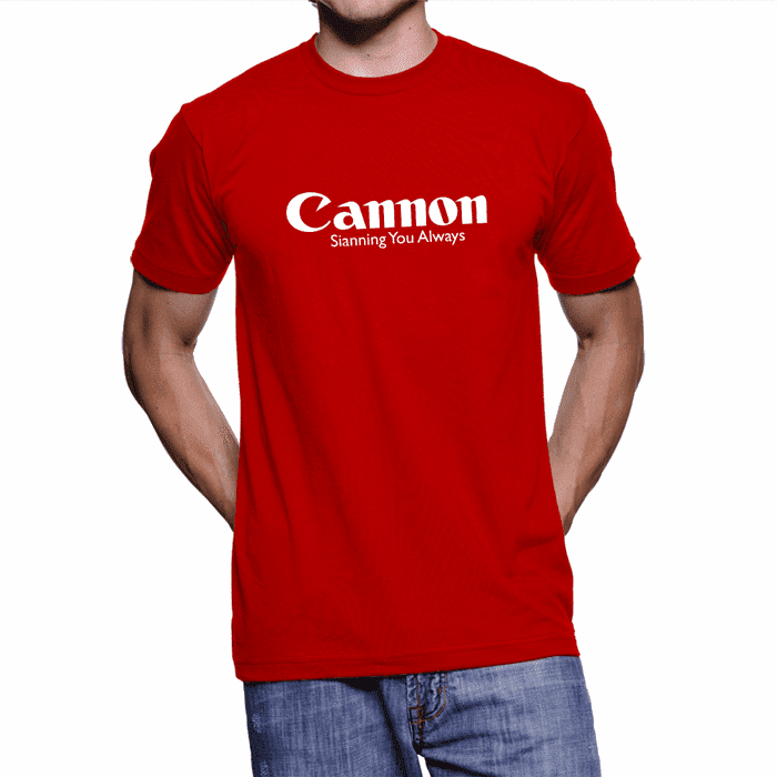 Cannon Crew Neck S-Sleeve T-shirt