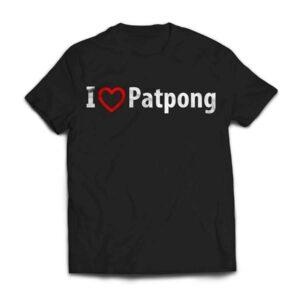 I Love Patpong Crew Neck S-Sleeve T-shirt