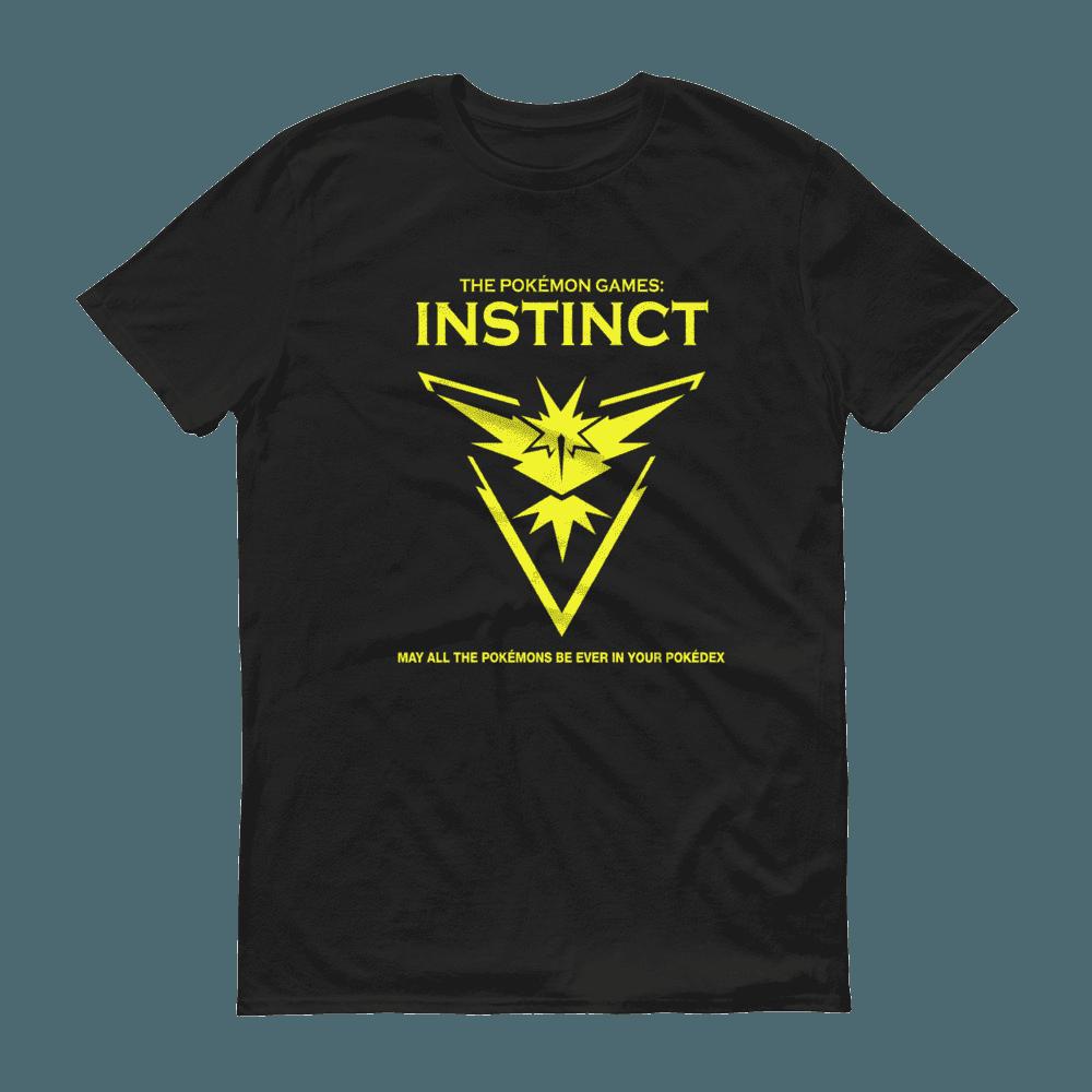 The Pokémon Games: Team Instinct Crew Neck S-Sleeve T-shirt