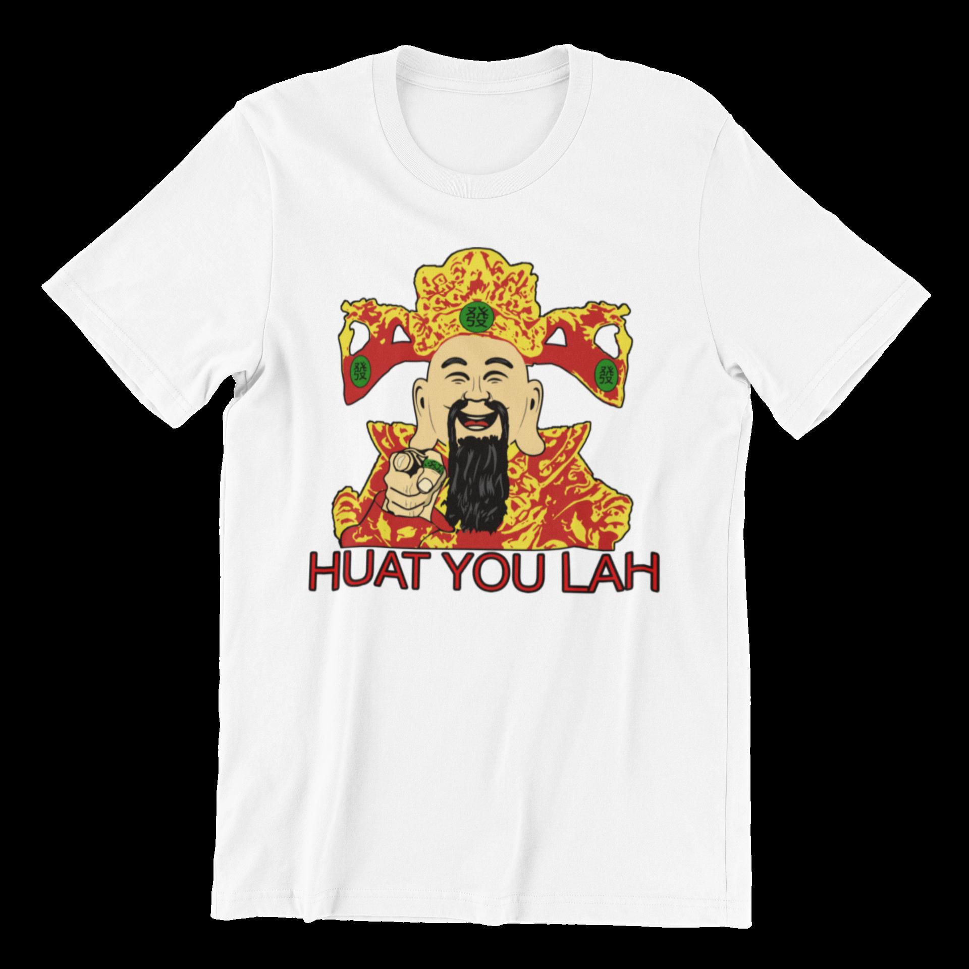 Huat You Lah Cai Sheng Ye Crew Neck S-Sleeve T-shirt