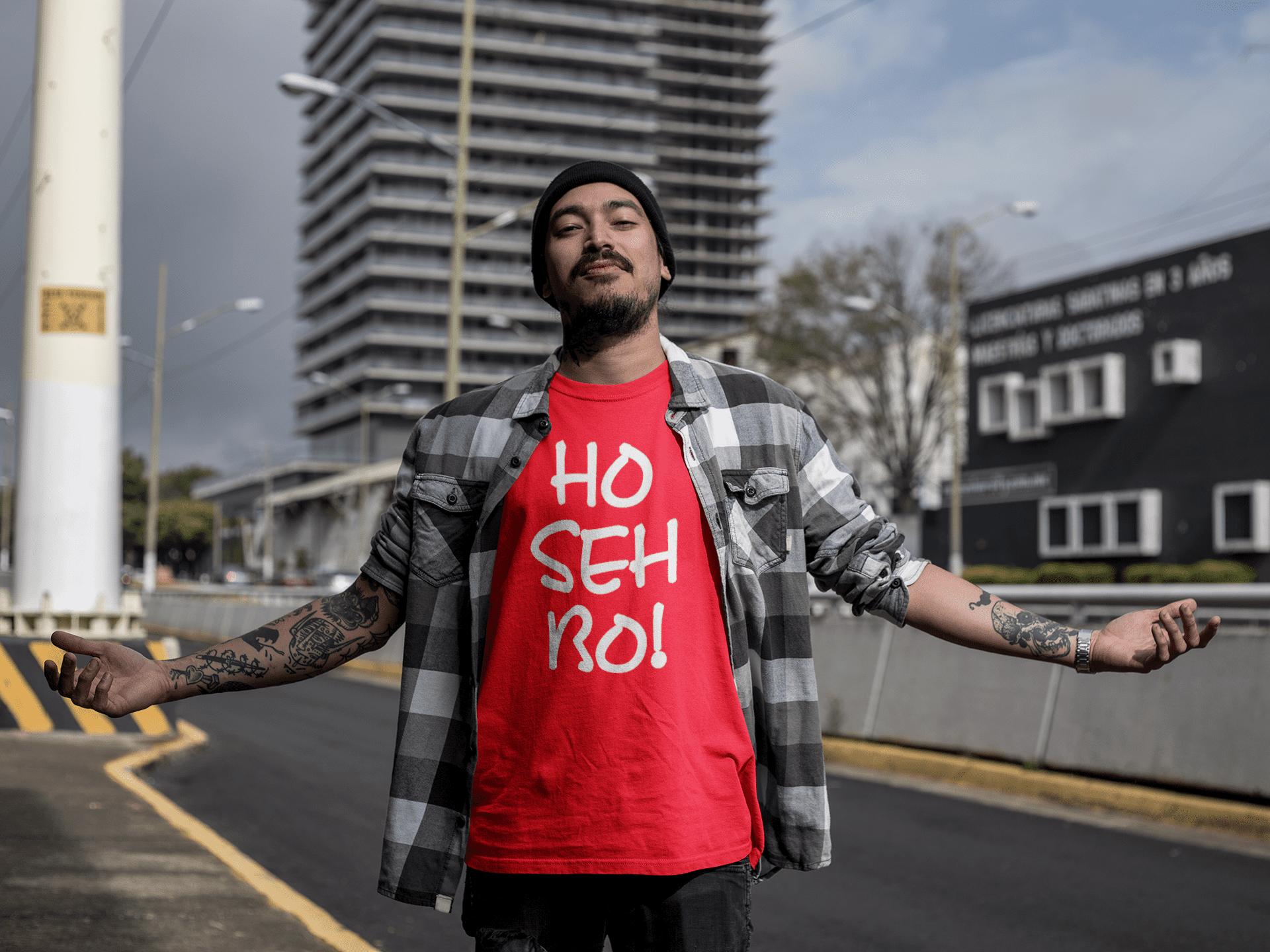 Ho Seh Bo! Crew Neck S-Sleeve T-shirt