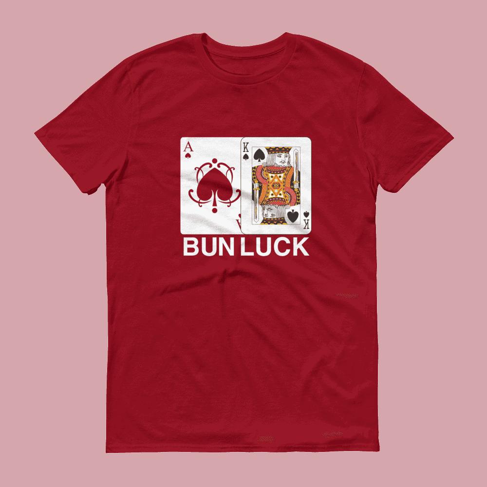 Bun Luck (Ace & King) Crew Neck S-Sleeve T-shirt
