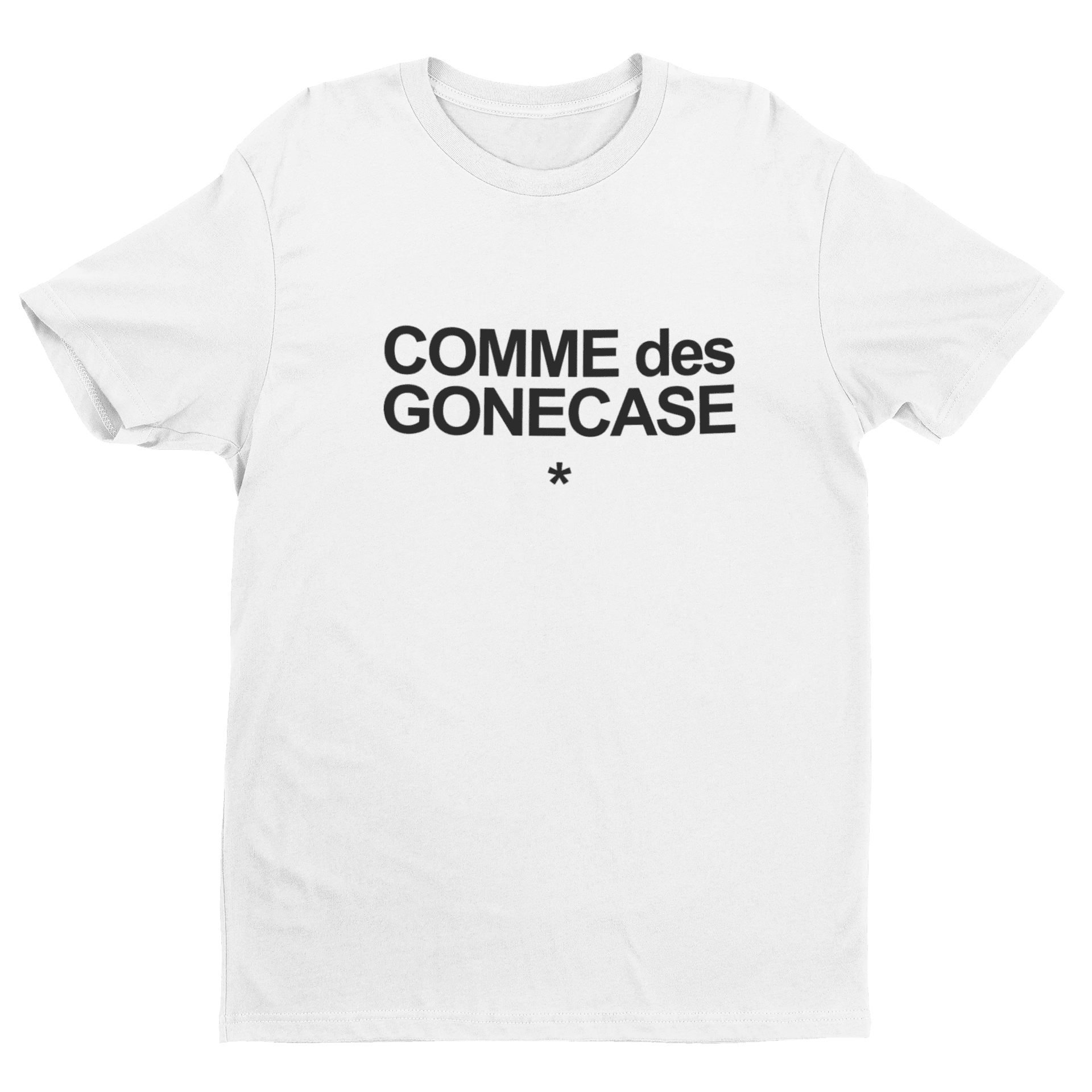 Comme Des Gonecase Crew Neck S-Sleeve T-shirt