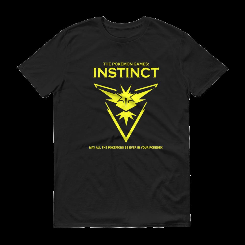 The Pokémon Games: Team Instinct Kids Crew Neck S-Sleeve T-shirt
