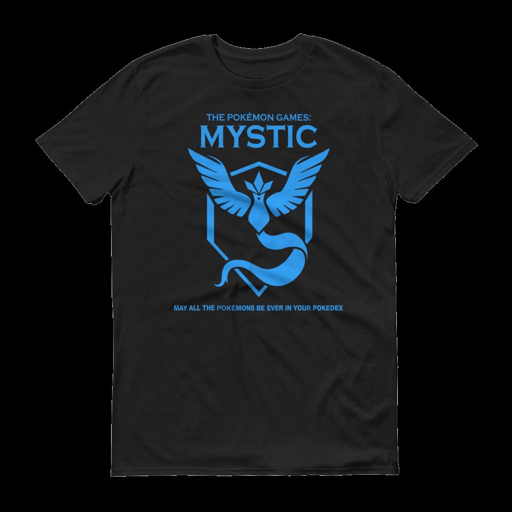 The Pokémon Games: Team Mystic Kids Crew Neck S-Sleeve T-shirt