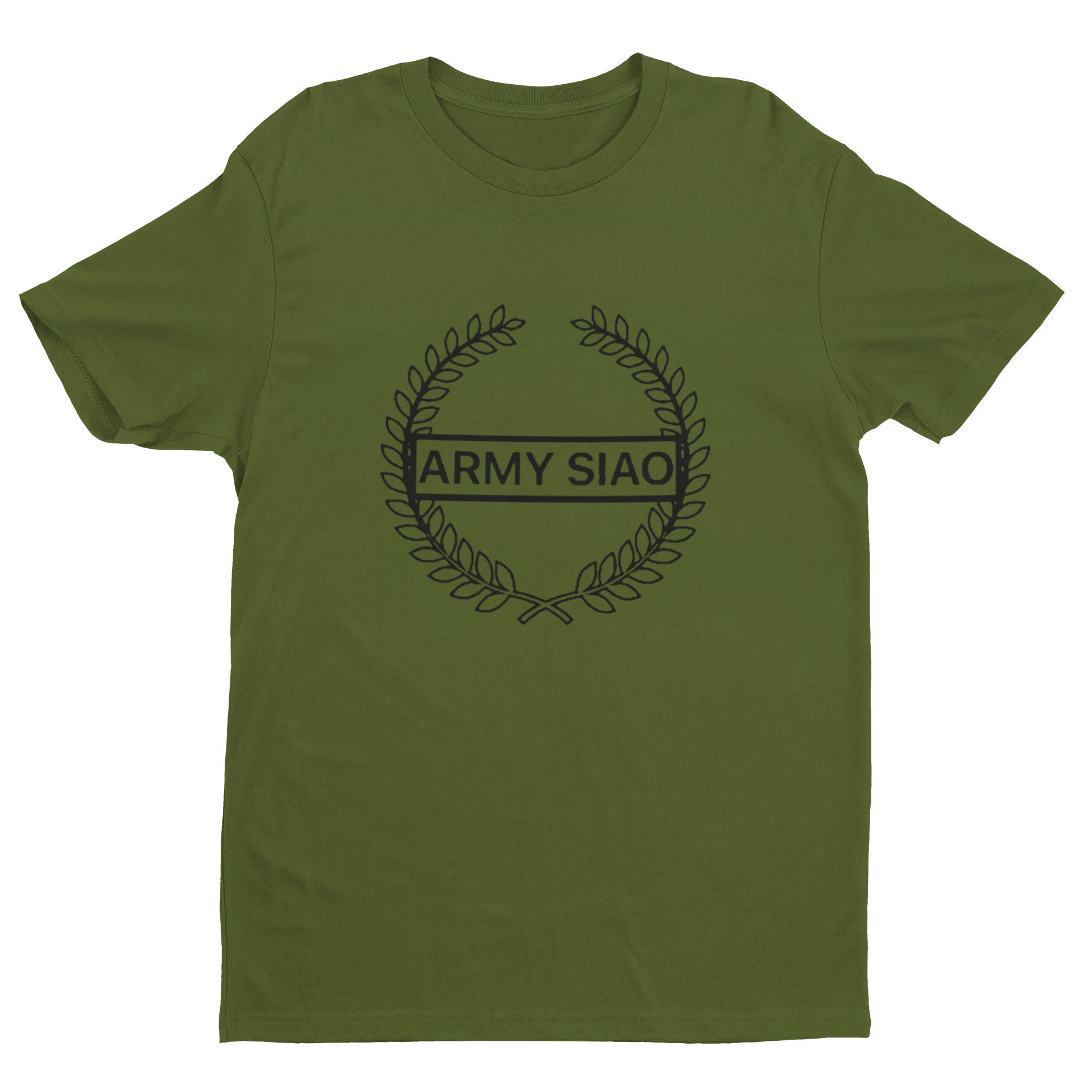 Army Siao T-Shirt Crew Neck S-Sleeve T-shirt