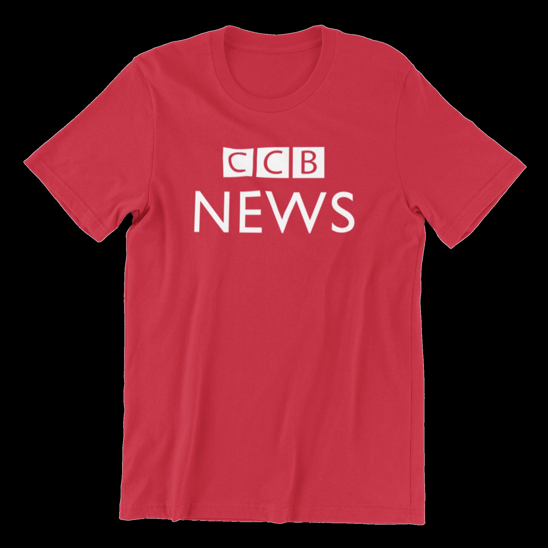 CCB News Crew Neck S-Sleeve T-shirt