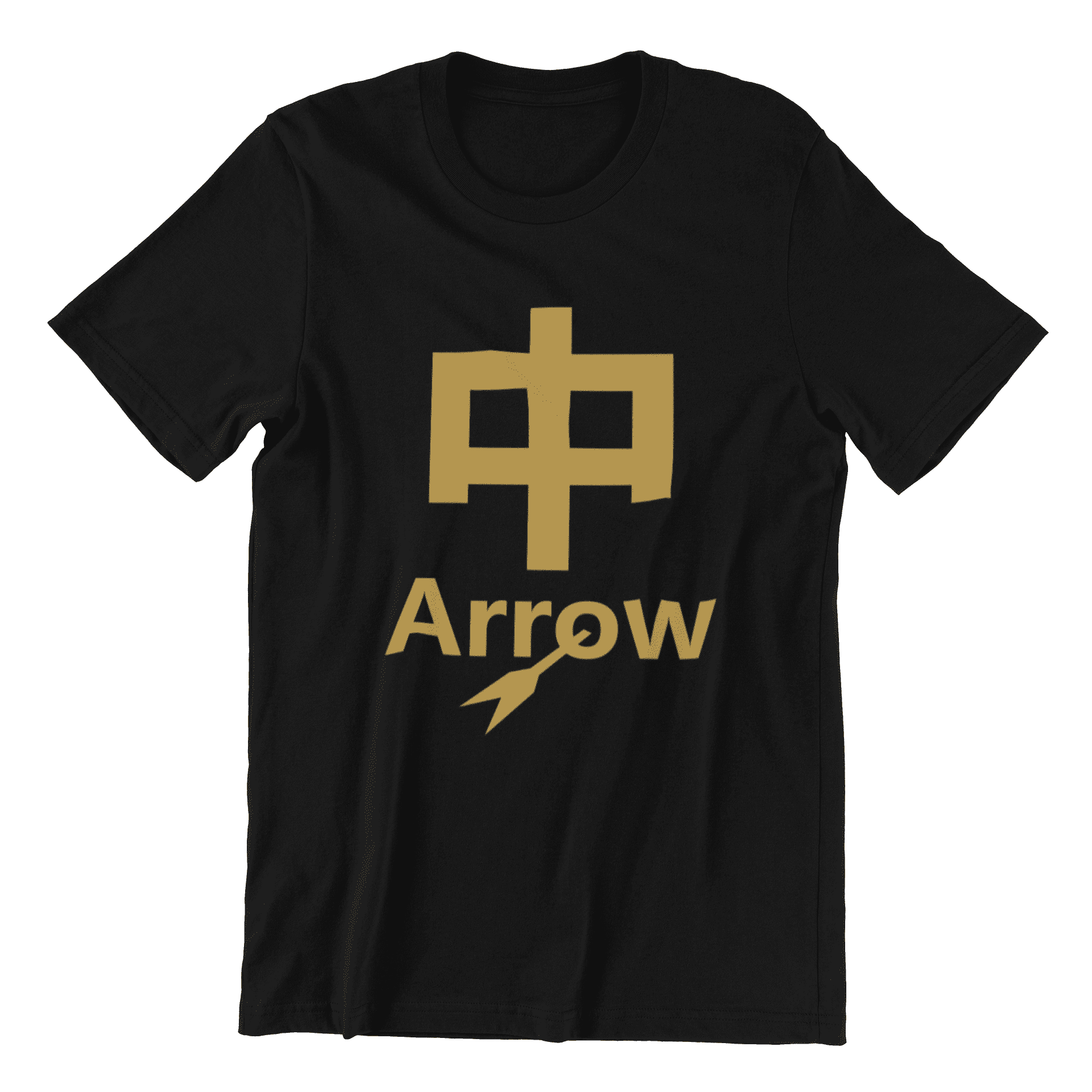 (Limited Gold Edition) Dio Arrow Crew Neck S-Sleeve T-shirt