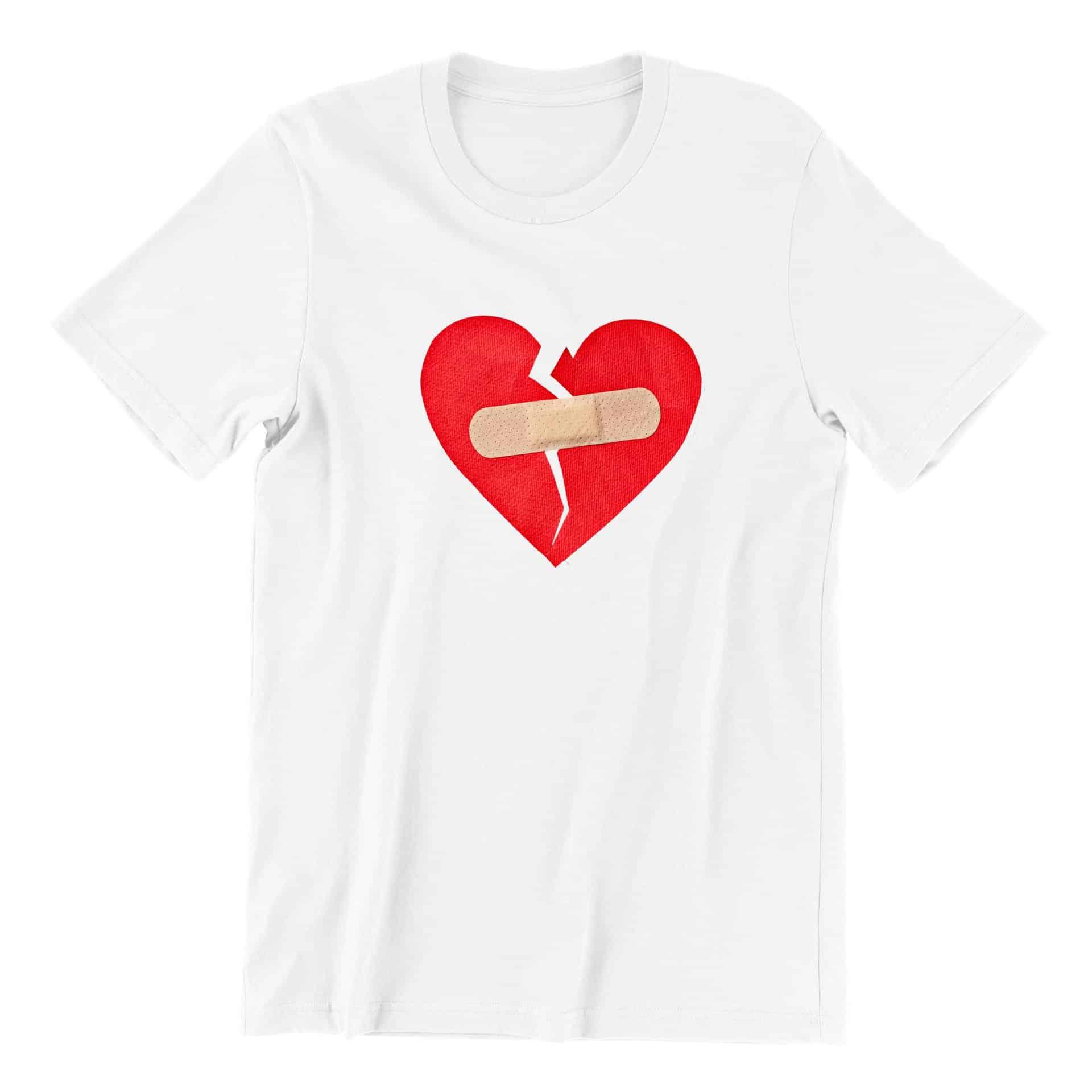 Broken Heart Short Sleeve T-shirt