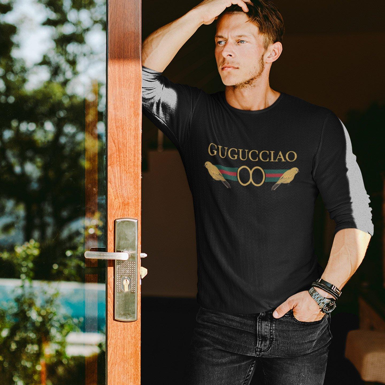 Guguciao Crew Neck L-Sleeve T-shirt