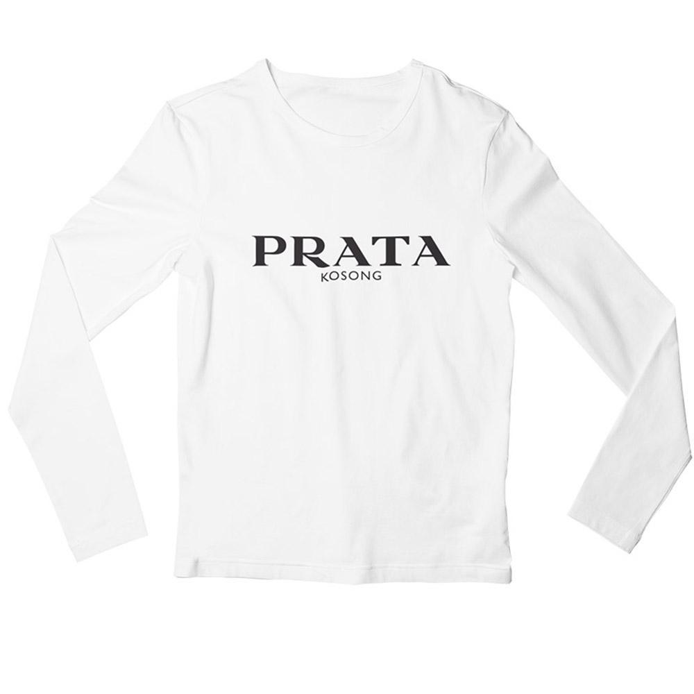 Prata Crew Neck L-Sleeve T-shirt
