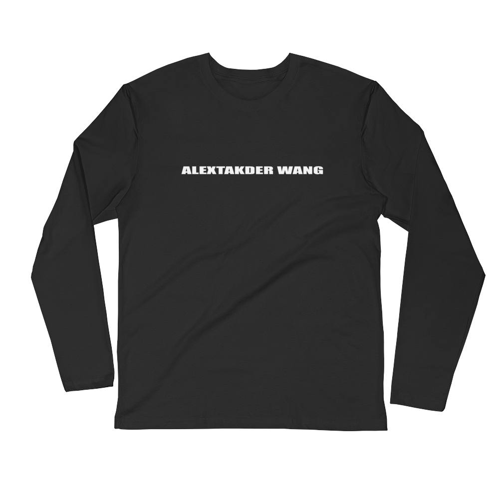 Alextakder Wang Crew Neck L-Sleeve T-shirt
