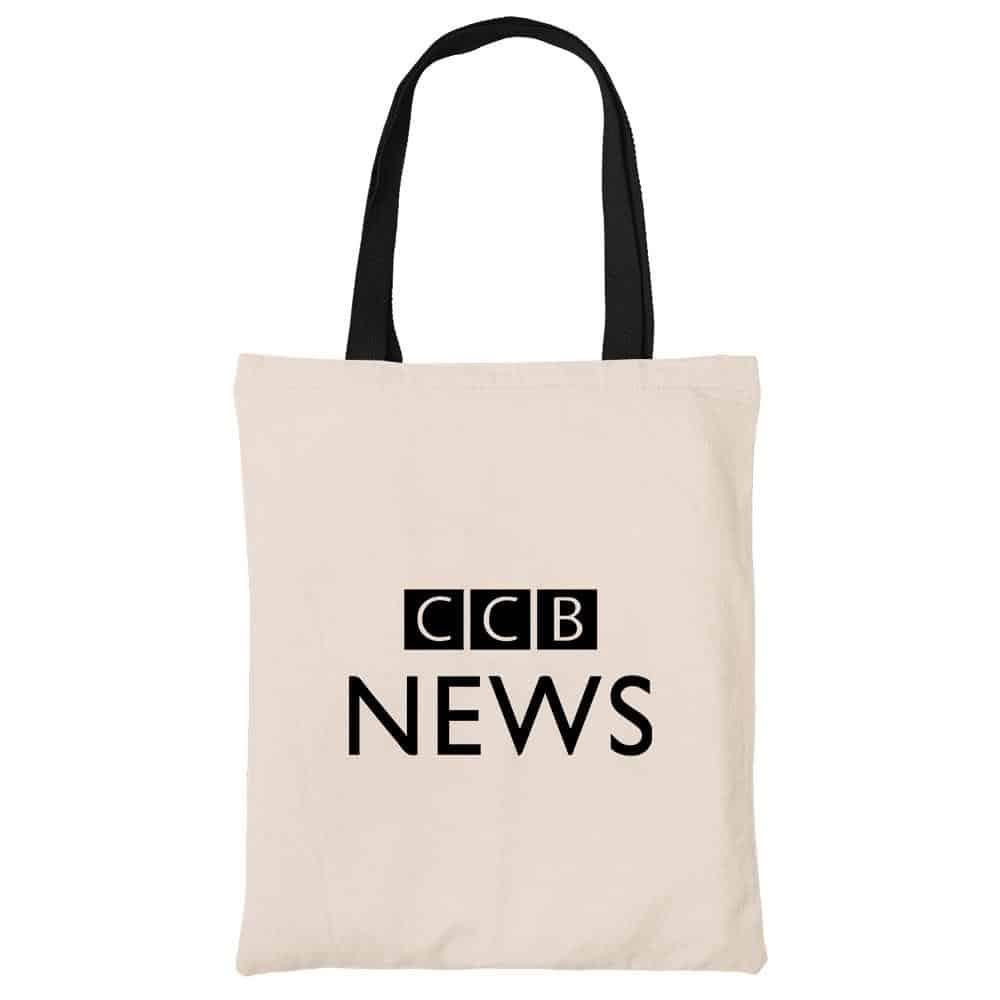 CCB News Beech Canvas Tote Bag