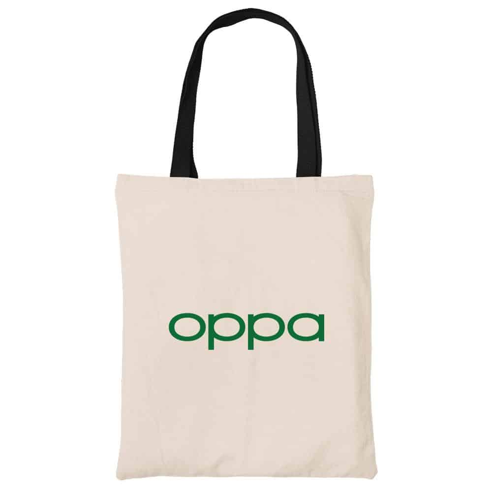 OPPa Beech Canvas Tote Bag