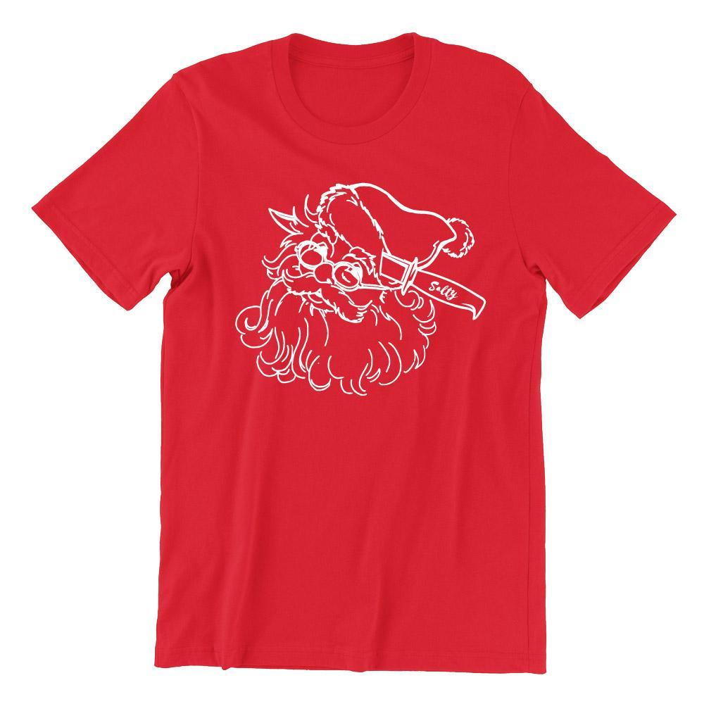 Rather Be Dead - Santa Short Sleeve T-shirt