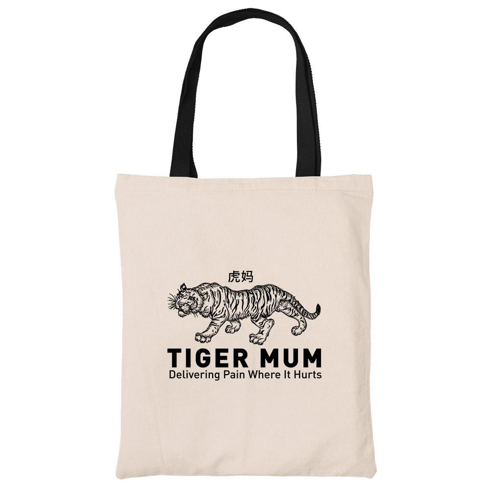 Tiger Mum Tote Bag