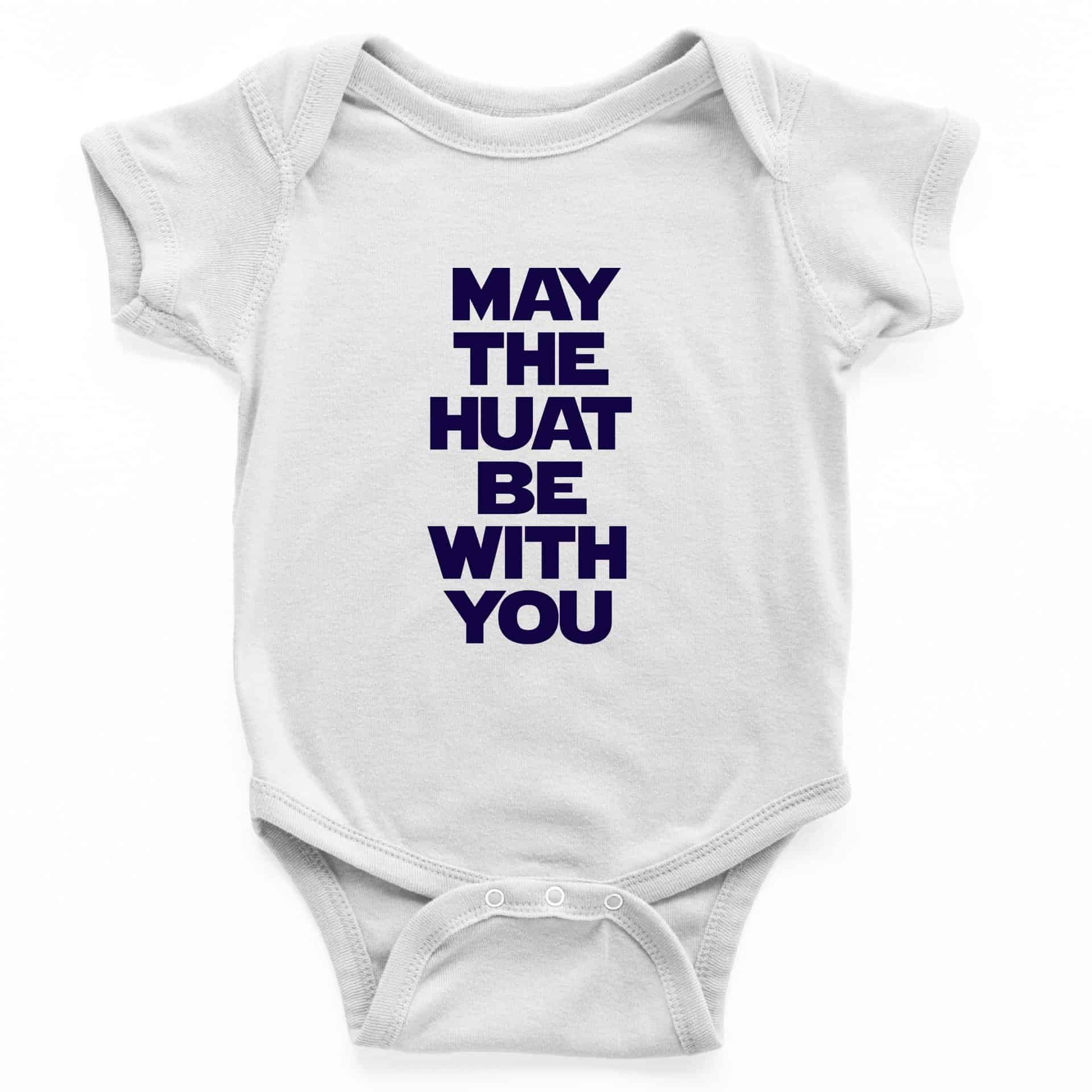 May The Huat Be With You S-Sleeve Romper