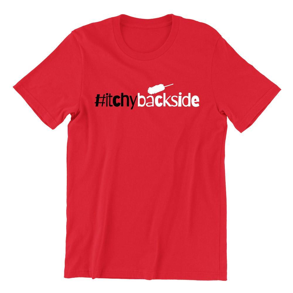 Itchy Backside Short Sleeve T-shirt