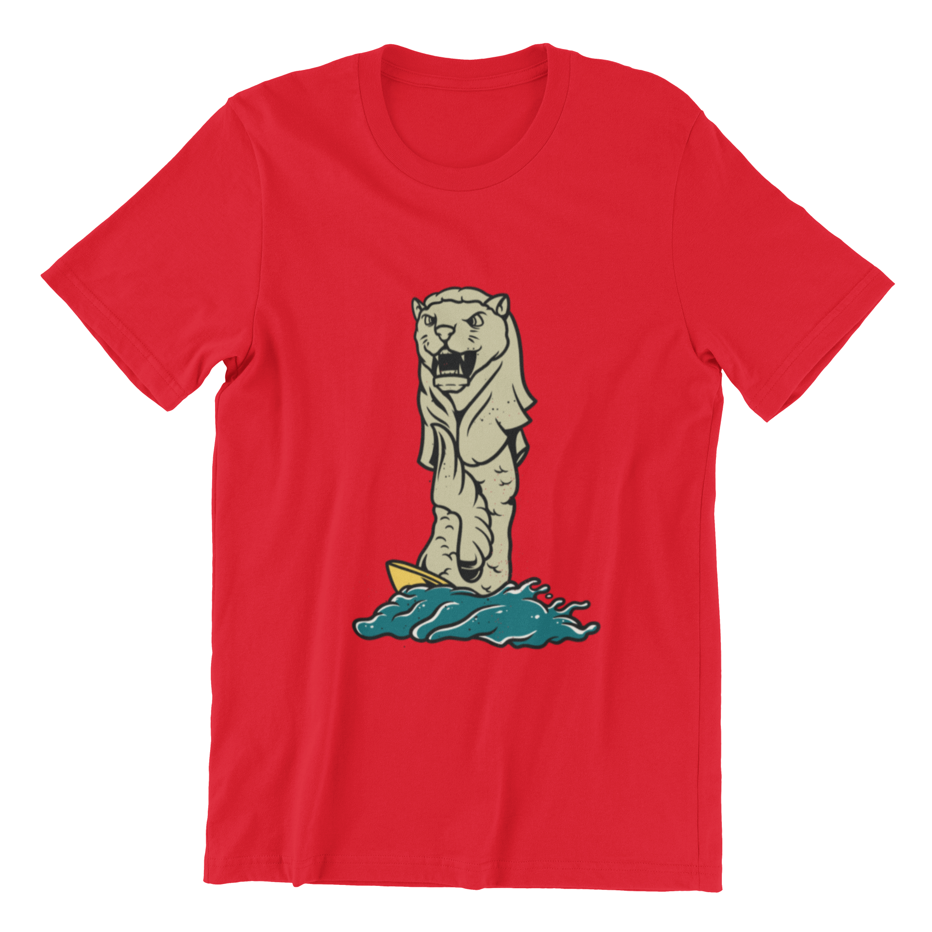 Merlion Short Sleeve T-shirt