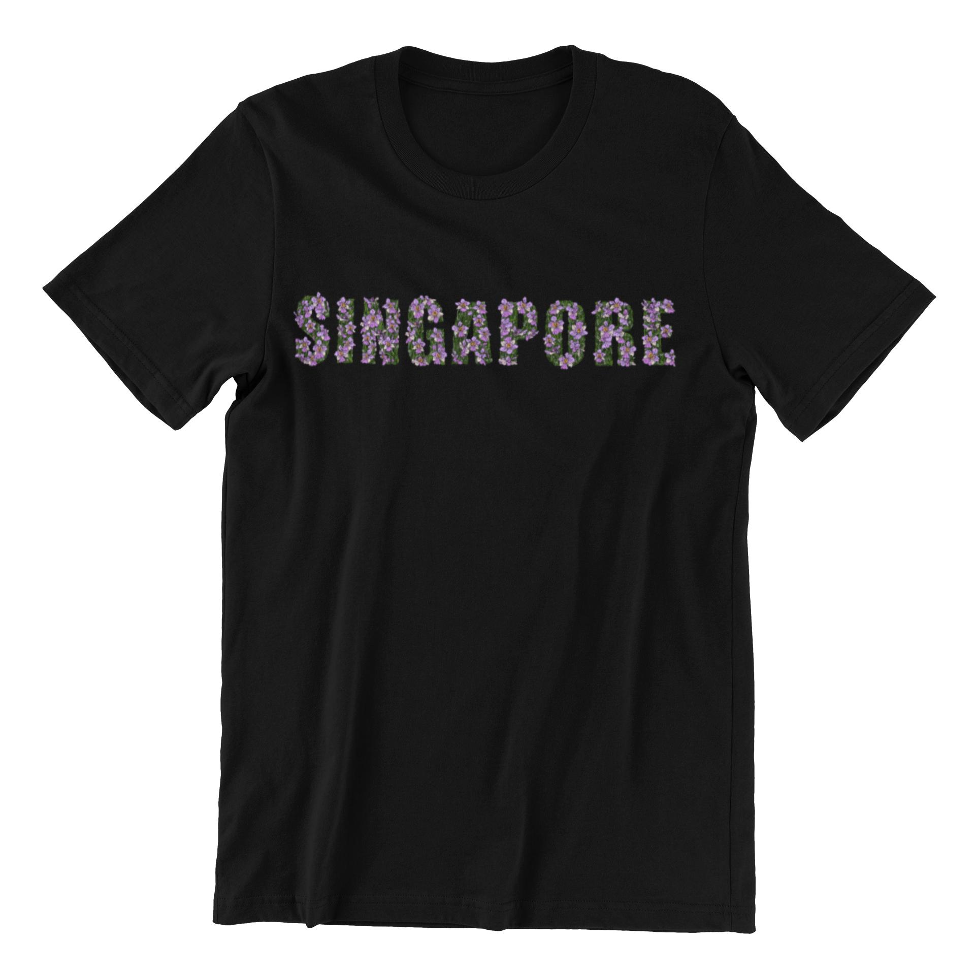 Singapore Orchids Short Sleeve T-shirt