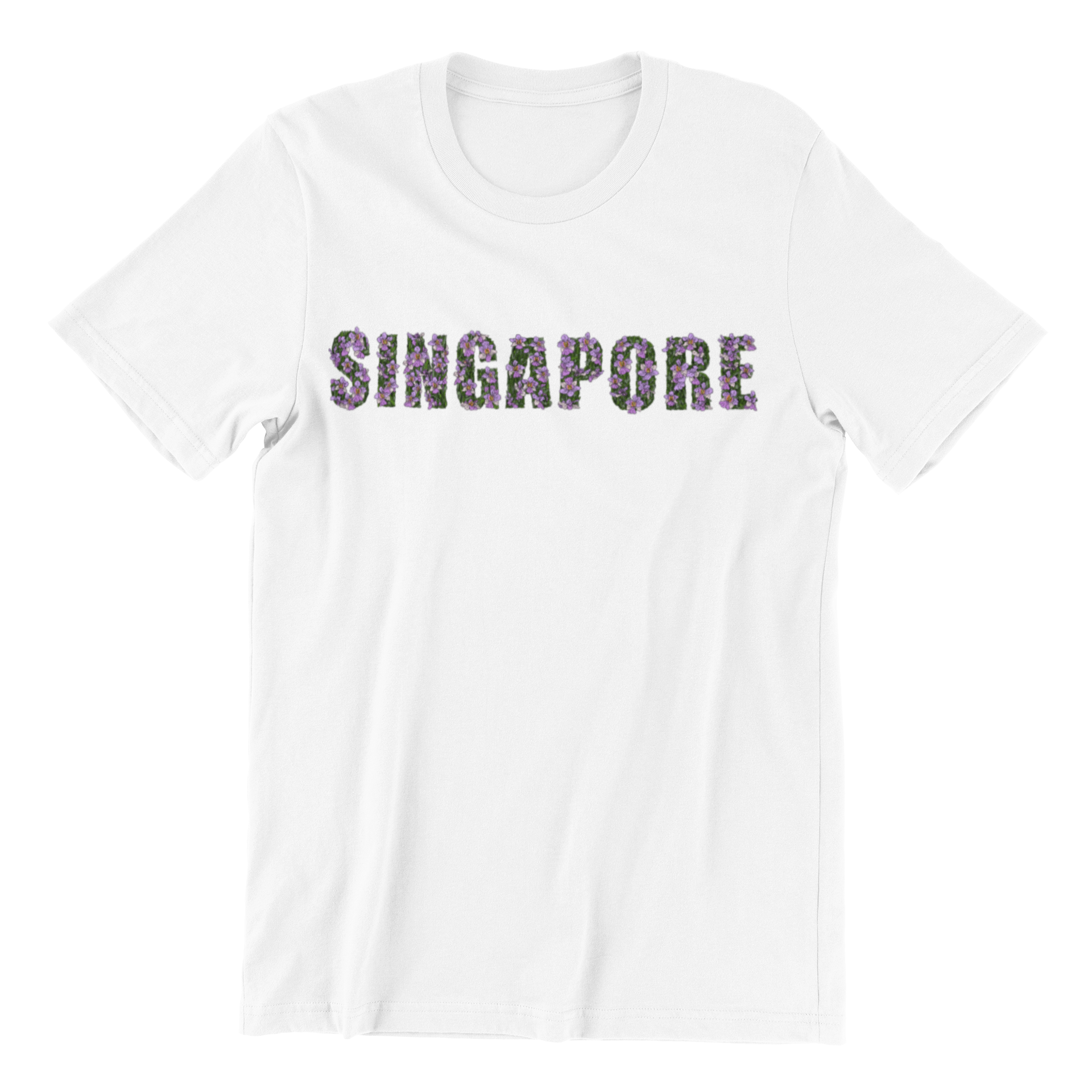 Singapore Orchids Short Sleeve T-shirt