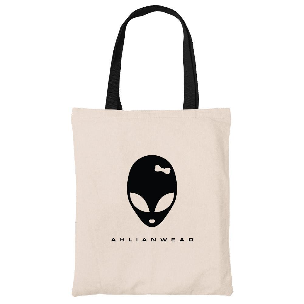 Ahlianwear Beech Canvas Tote Bag