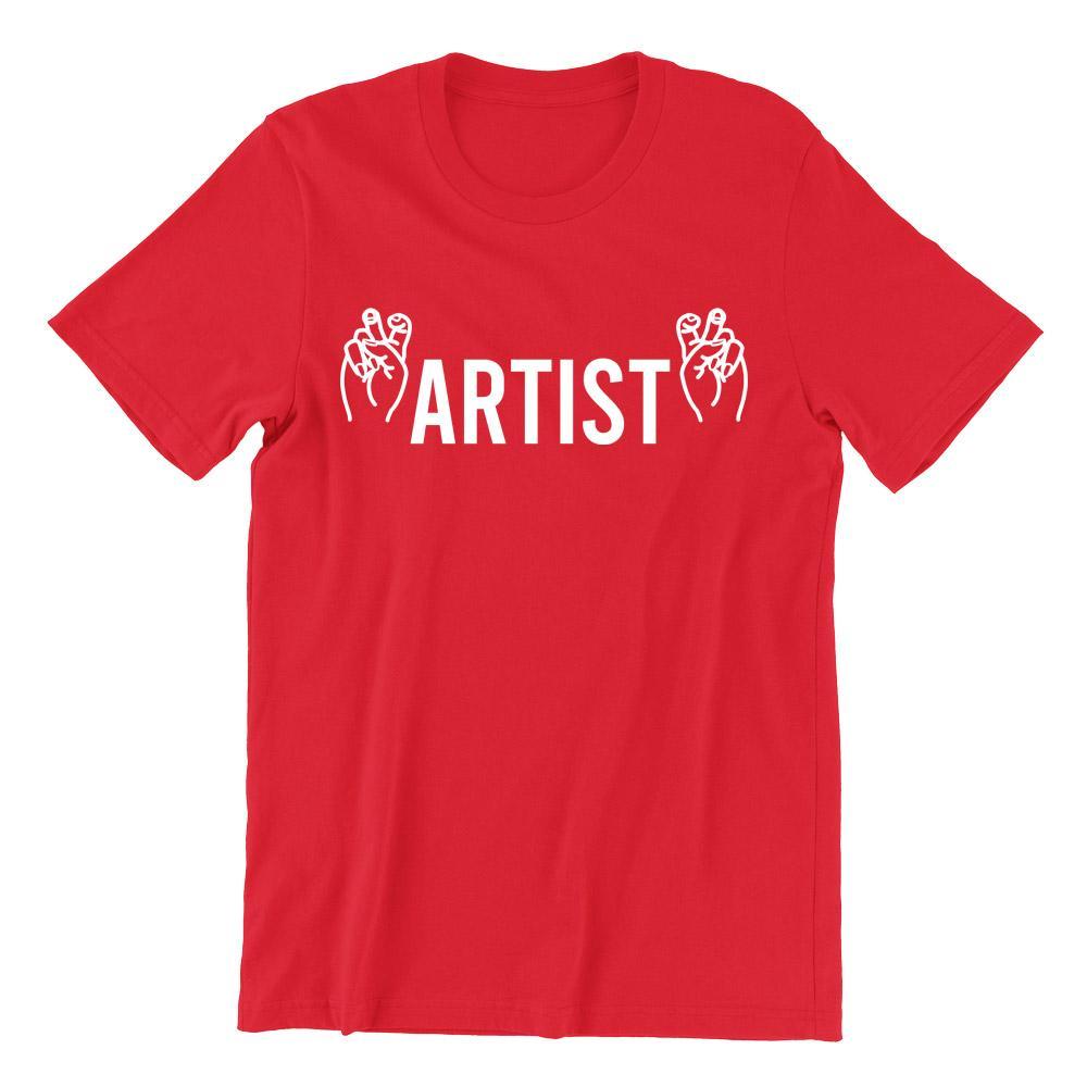 Artist Short Sleeve T-shirt