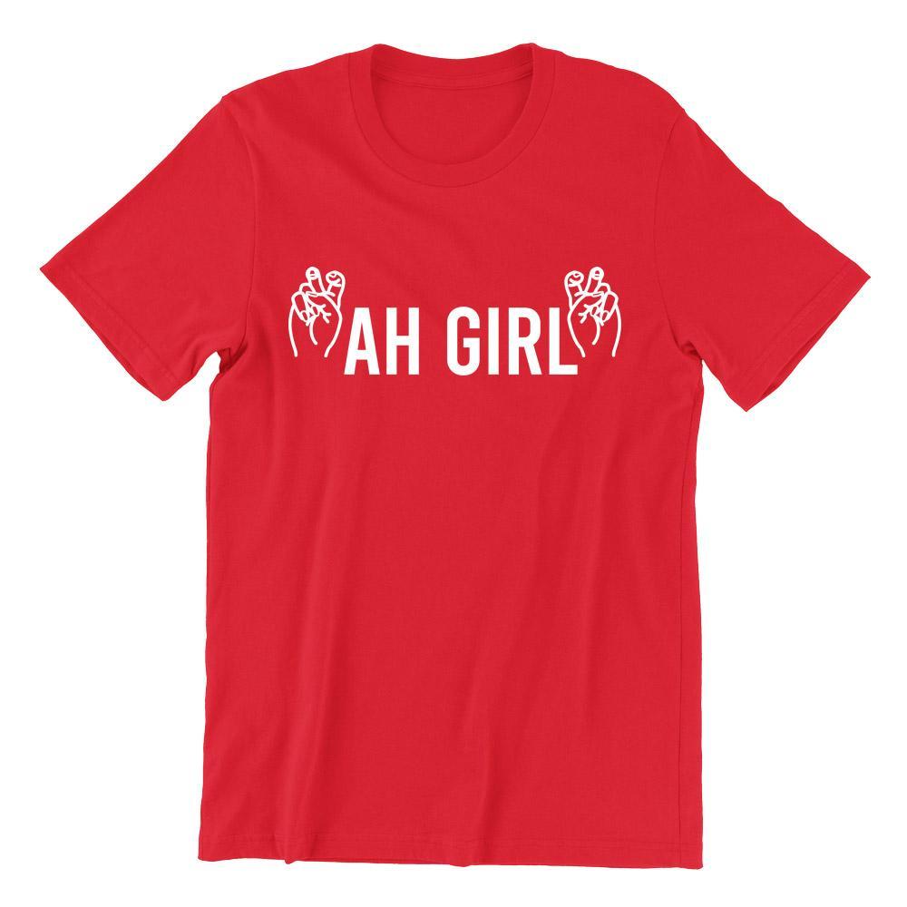 Ah Girl Short Sleeve T-shirt