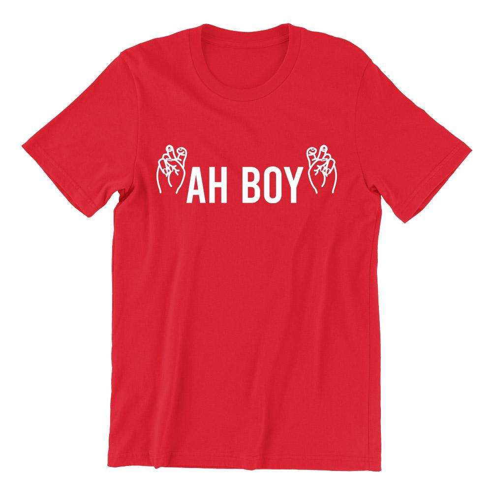 Ah Boy Short Sleeve T-shirt