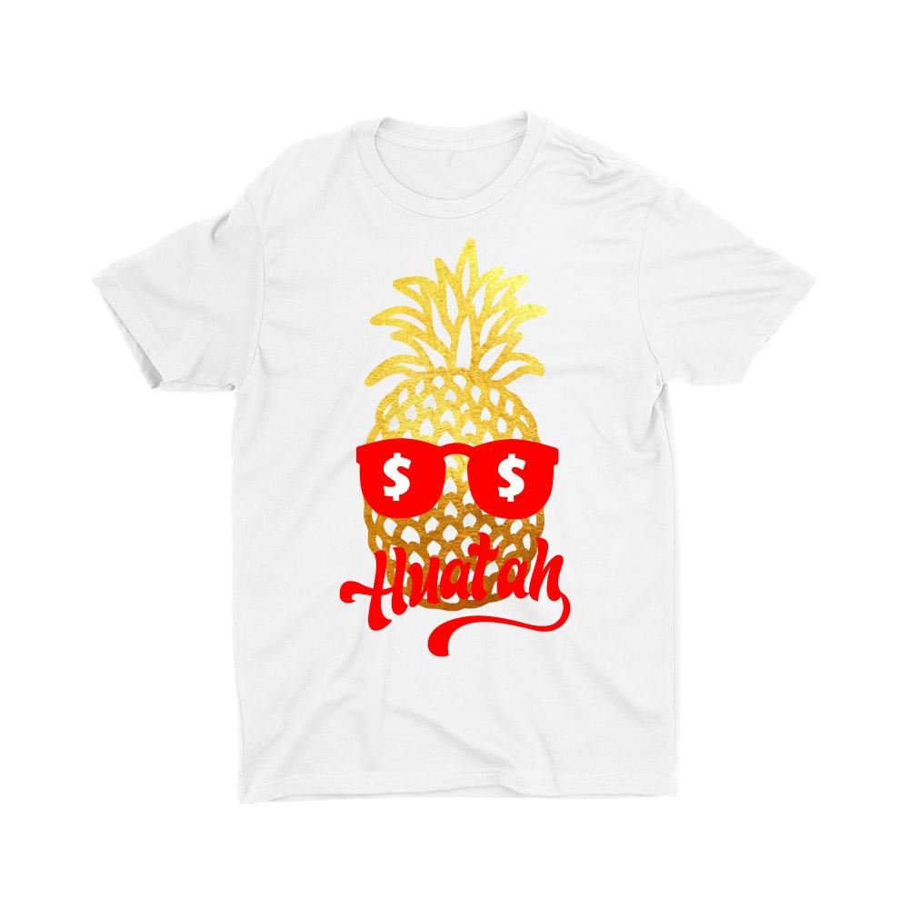 Limited Gold Edition Pineapple Huat Ah Short Sleeve T-shirt