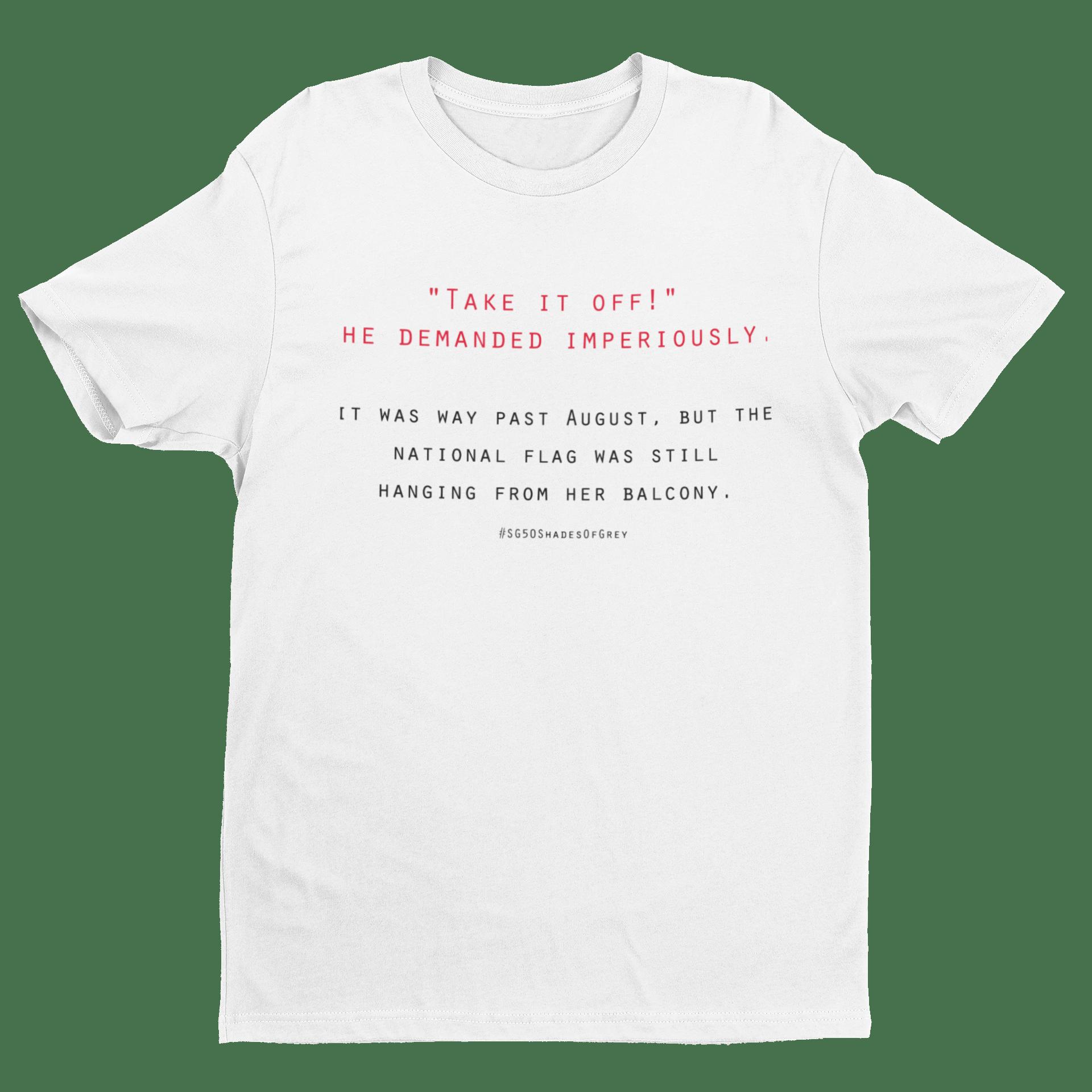 SG50 Shades of Grey - Mahjong Crew Neck S-Sleeve T-shirt