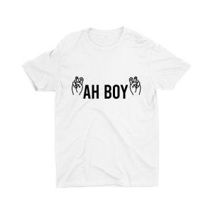 Ah Boy-unisex-kids-t-shirt-white-streetwear-singapore-for-boys-and-girls