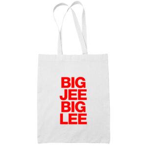 Big-Jee-Big-Lee-cotton-white-tote-bag-carrier-shoulder-ladies-shoulder-shopping-grocery-bag-wetteshirt