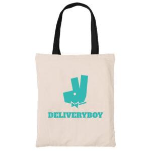 Deliveryboy-funny-canvas-heavy-duty-tote-bag-carrier-shoulder-ladies-shoulder-shopping-bag-kaobeiking