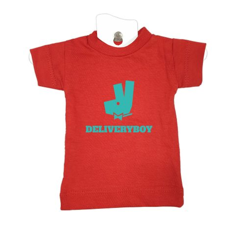 Deliveryboy-red-mini-t-shirt-home-furniture-decoration