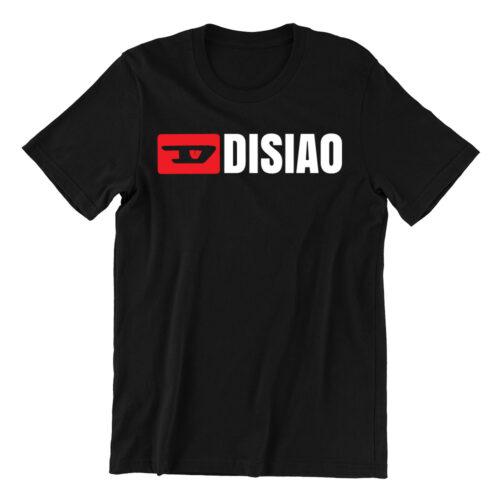 Di-siao-black-casualwear-womens-t-shirt-design-kaobeiking-singapore-funny-clothing-online-shop