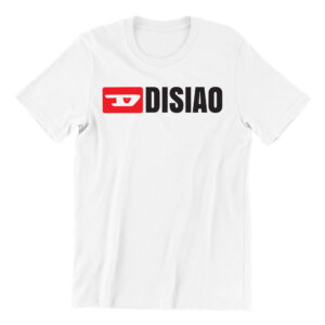 Di-siao-white-short-sleeve-mens-teeshirt-singapore-kaobeiking-creative-print-fashion-store