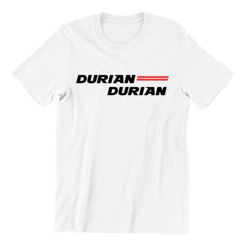 Durian Durian-white-teeshrt-streetwear-singapore-funny-hokkien-vinyl-streetwear-apparel-designer