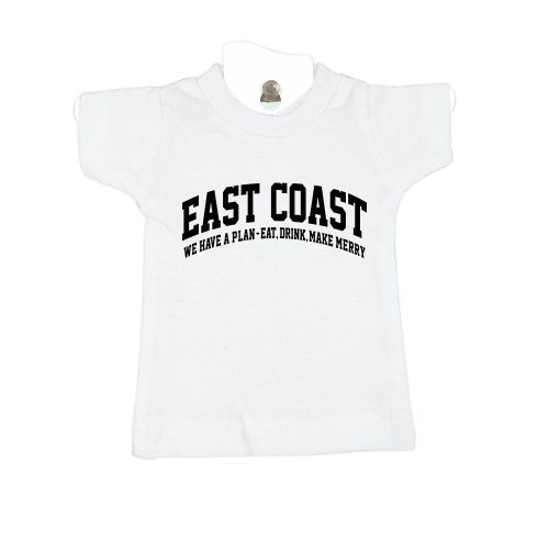 East-Coast-white-mini-t-shirt-home-furniture-decoration