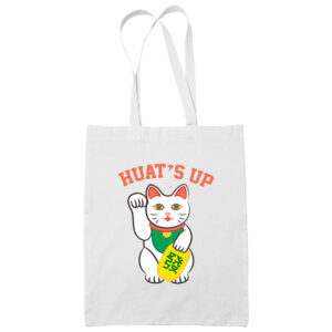 Huat's-Up-cotton-white-tote-bag-carrier-shoulder-ladies-shoulder-shopping-groceries-bag-wetteshirt