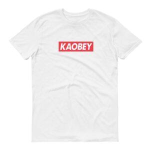 Kaobey Logo white womens tshrt singapore funny hokkien streetwear